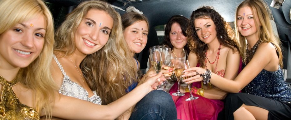 Limousine Hire Coventry  - Hen and Stag Parties - Limo Hire